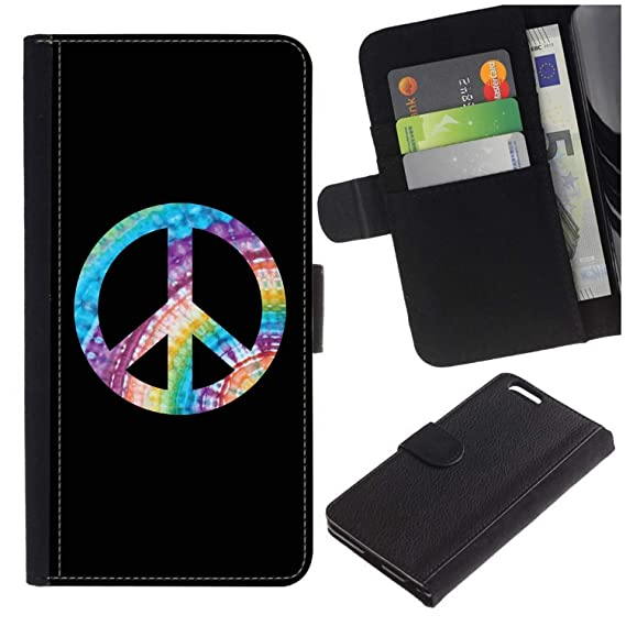 Amazon Hippie Peace Signsymbol For Apple Iphone 44s Flip