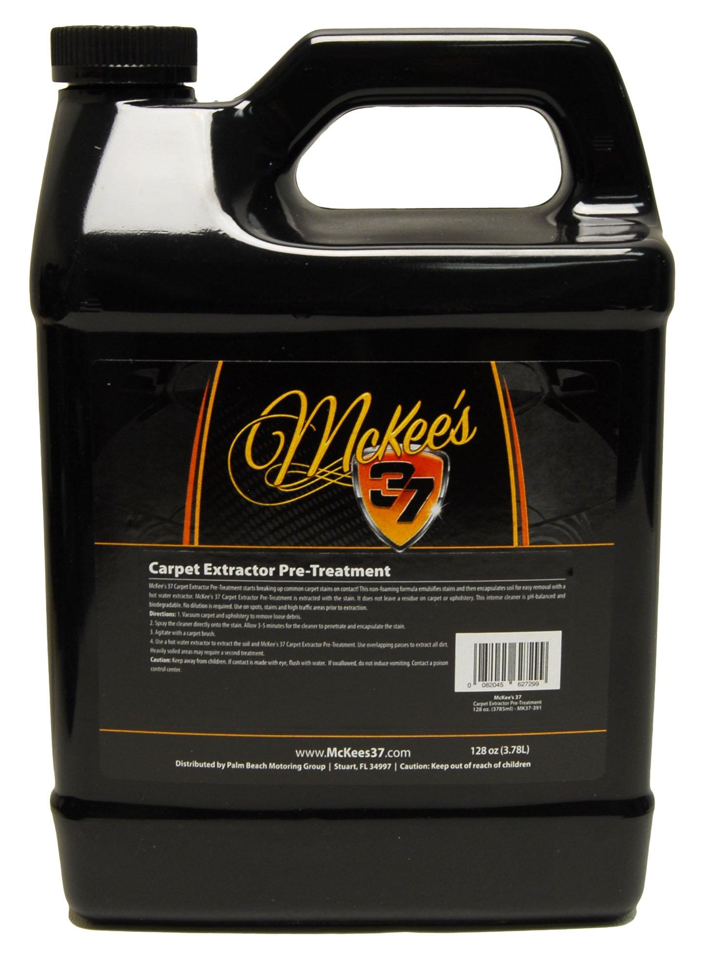 McKee's 37 MK37-391 Carpet Extractor Pre-Treatment 128 Fluid_Ounces
