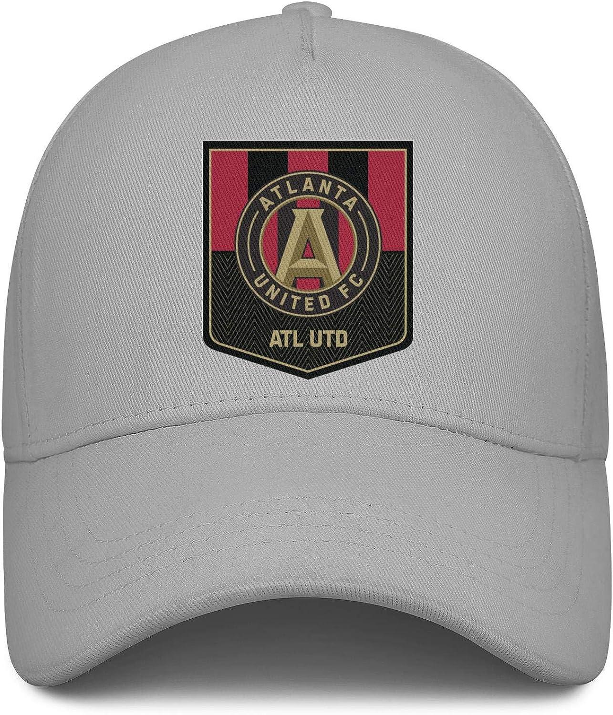 Fits Cowboy Hat Superlite Trucker Cap Snapback Hat Football Hats LiJiCai Unisex Atlanta-Cool-United-Logo