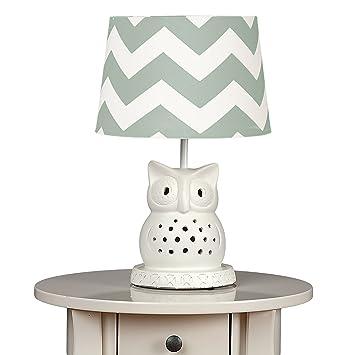 Amazon lolli living owl lamp base w grey zig zag shade baby lolli living owl lamp base w grey zig zag shade aloadofball Choice Image