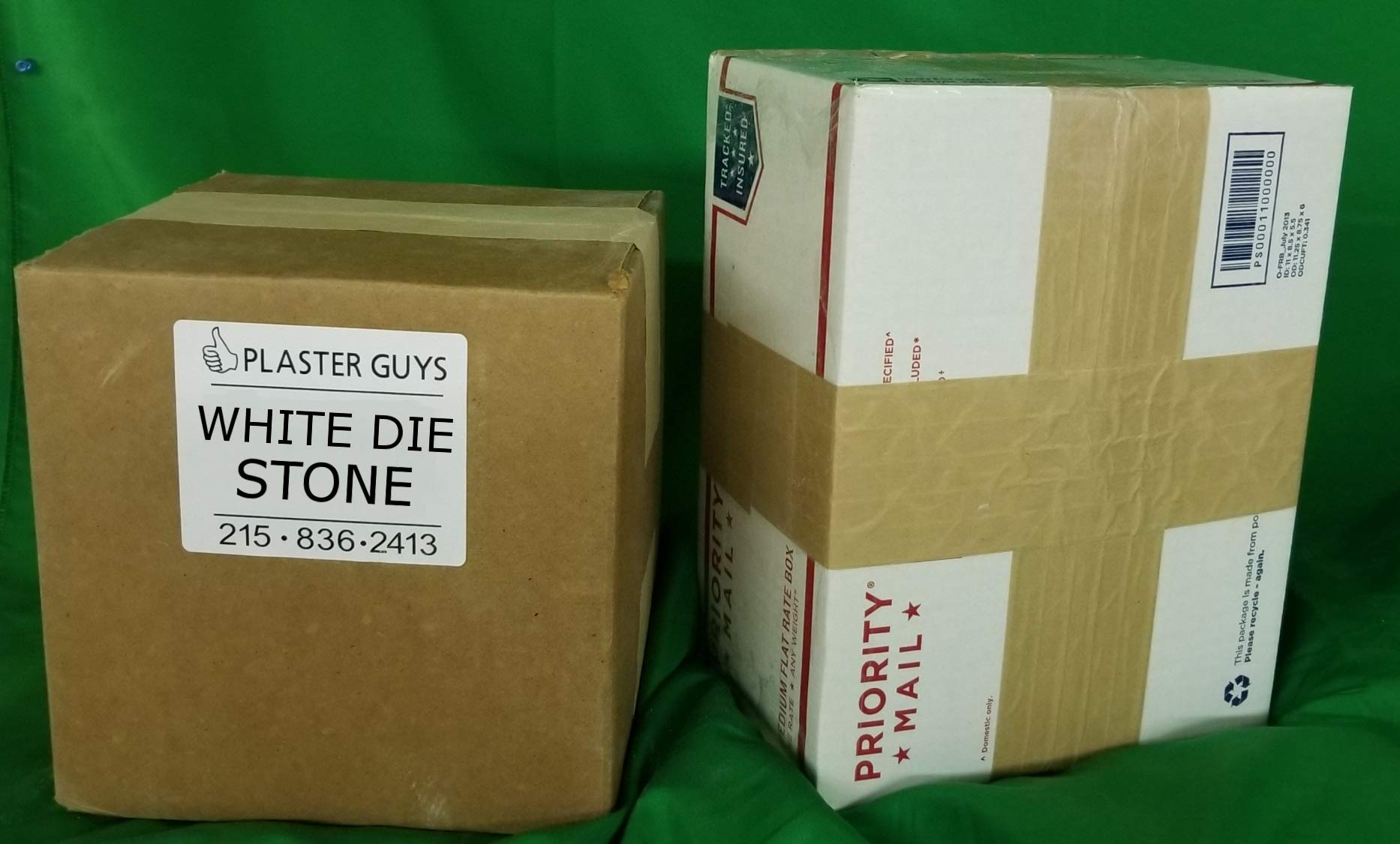 White Dental Die Stone 50 Lb Bag - Type 4 (IV) - Fast Shipping! Made in The USA! by Plaster Guys (Image #1)