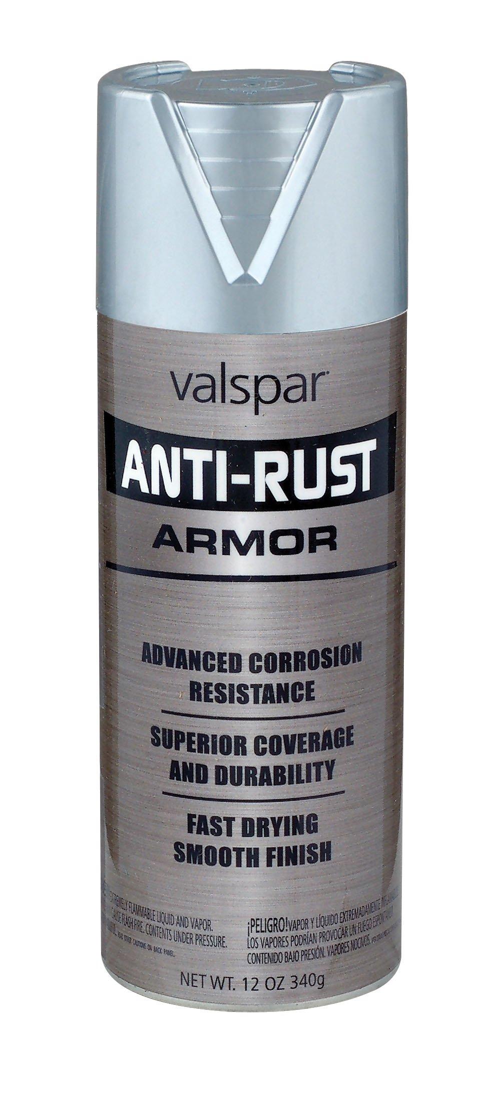 Valspar (21940-6PK) Metallic Aluminum Enamel - 12 oz., (Pack of 6)