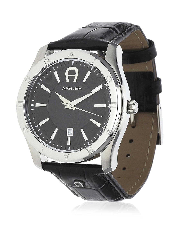 Aigner Herren Uhr Armbanduhr Lazio II schwarz A32190