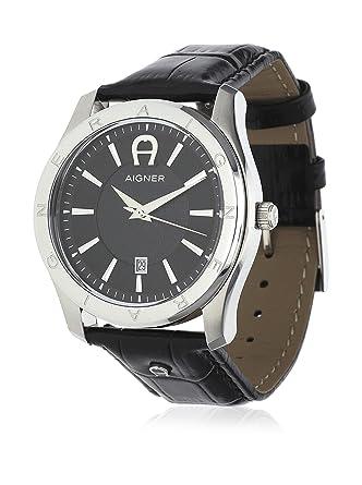 aigner men watch lazio ii black a32190 amazon co uk watches aigner men watch lazio ii black a32190