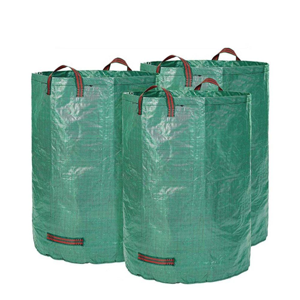 YAOBAO 3-Pack Garden Bag, Heavy Duty Gardening Bags, Lawn Pool Garden Leaf Waste Bag
