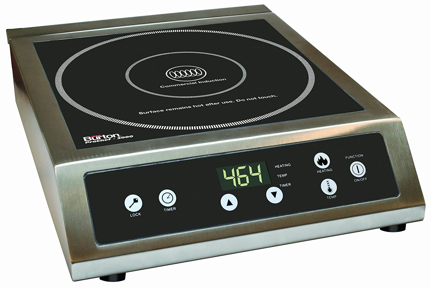 Exceptional Amazon.com: Max Burton 6530 ProChef 3000 Watt Commercial Induction Cooktop,  Black: Kitchen U0026 Dining