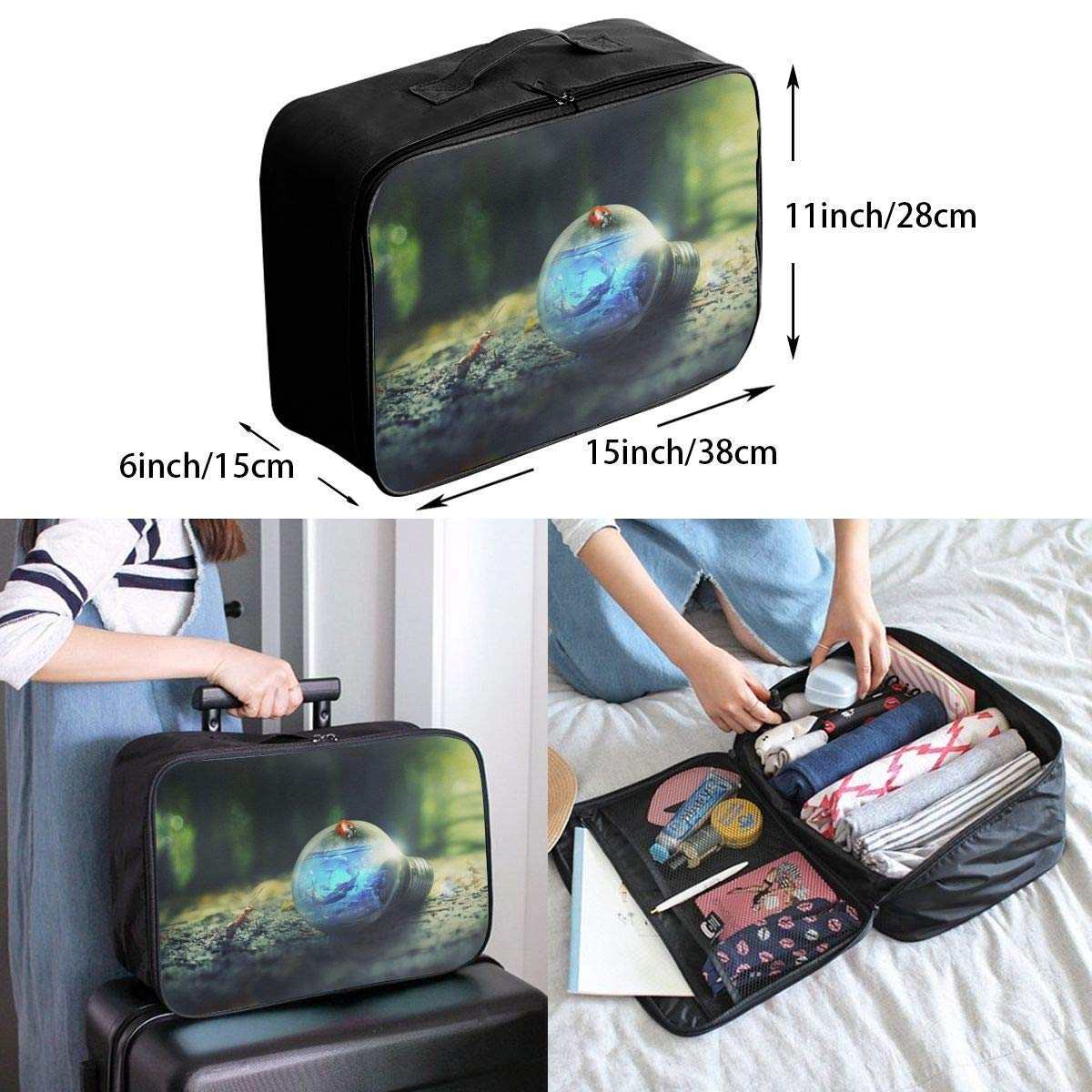 JTRVW Luggage Bags for Travel Lightweight Large Capacity Portable Duffel Bag for Men /& Women Old Camera And Photoes Travel Duffel Bag Backpack