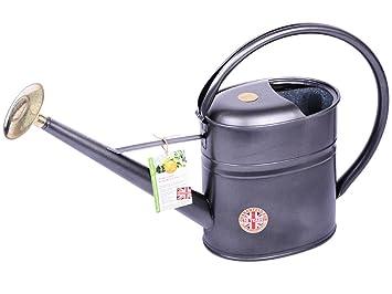 Haws Gießkanne haws gießkanne 8 liter schwarz grau graphite metall feuerverzinkt
