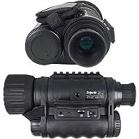 Bestguarder Visor monocular Digital de visión Nocturna 6x50mm Cámara infrarroja de Alta definición de 5mp Foto 720p…