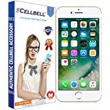 Cellbell TM Apple iPhone 7 Plus 9H Premium Tempered glass screen protector with FREE Installation Kit(85% OFF LAUNCH OFFER)