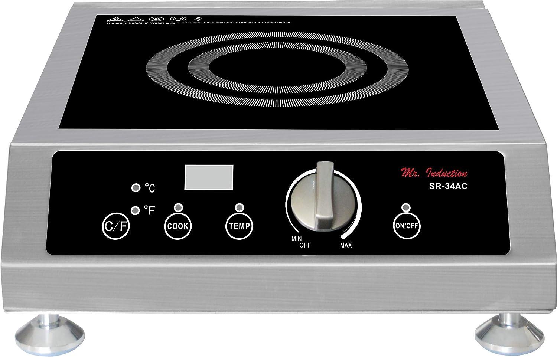SPT SR-34AC 3400W Commercial Countertop Induction Range