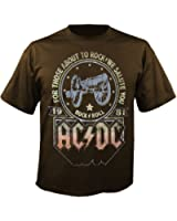 AC/DC - We Salute You - Brown - T-Shirt (limited Edition)