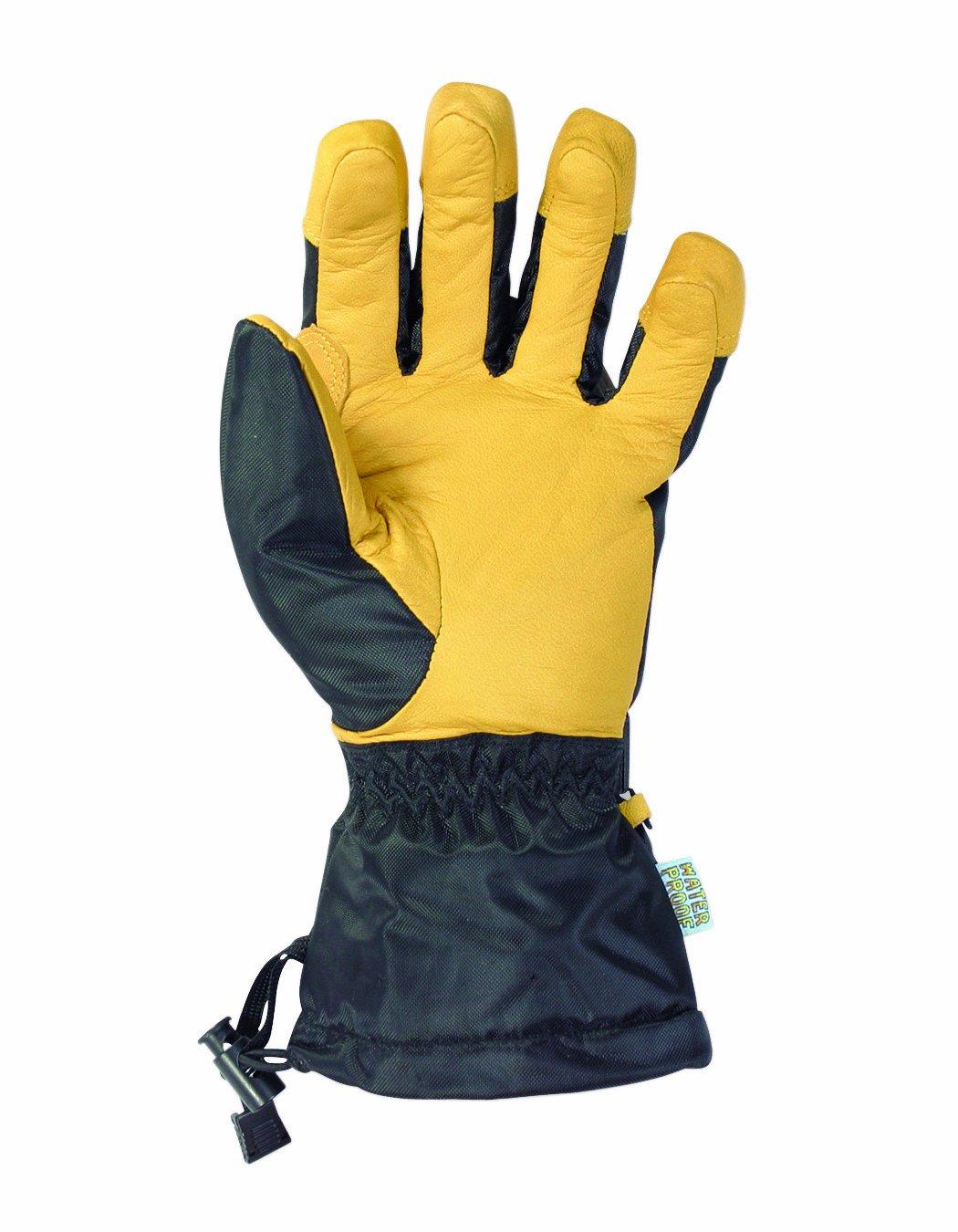 Large CLC Custom Leathercraft 2062L Goatskin Snow Gloves