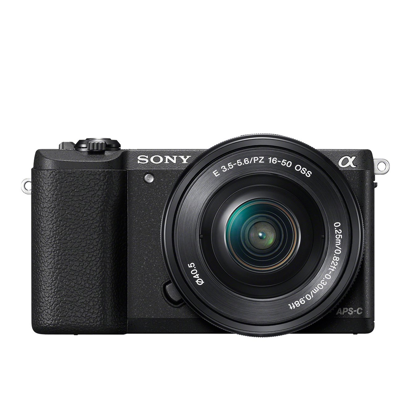 Sony Alpha 5100L Fotocamera Digitale Mirrorless Compatta con Obiettivo Intercambiabile 16-50 mm, Sensore APS-C CMOS Exmor da 24.3 MP, Nero product image