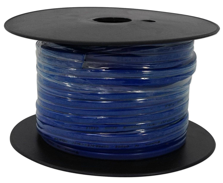 Rockville R14G75MSW 75 Foot Spool Marine Waterproof 14 AWG Speaker Wire White