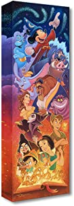 Disney Fine Art Magical Storybook by Tim Rogerson 24 Inches x 8 Inches Treasures on Canvas Reproduction Gallery Wrapped Canvas Wall Art
