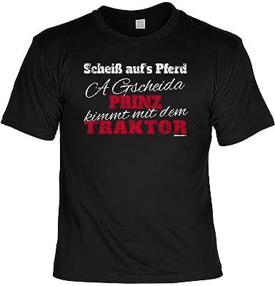 Toll Lustiges Sprüche Shirt Für Bauern / Landwirt : Scheiß Auf´s Pferd .