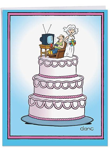 Amazon com : Large Funny Anniversary Card - Big Appreciation