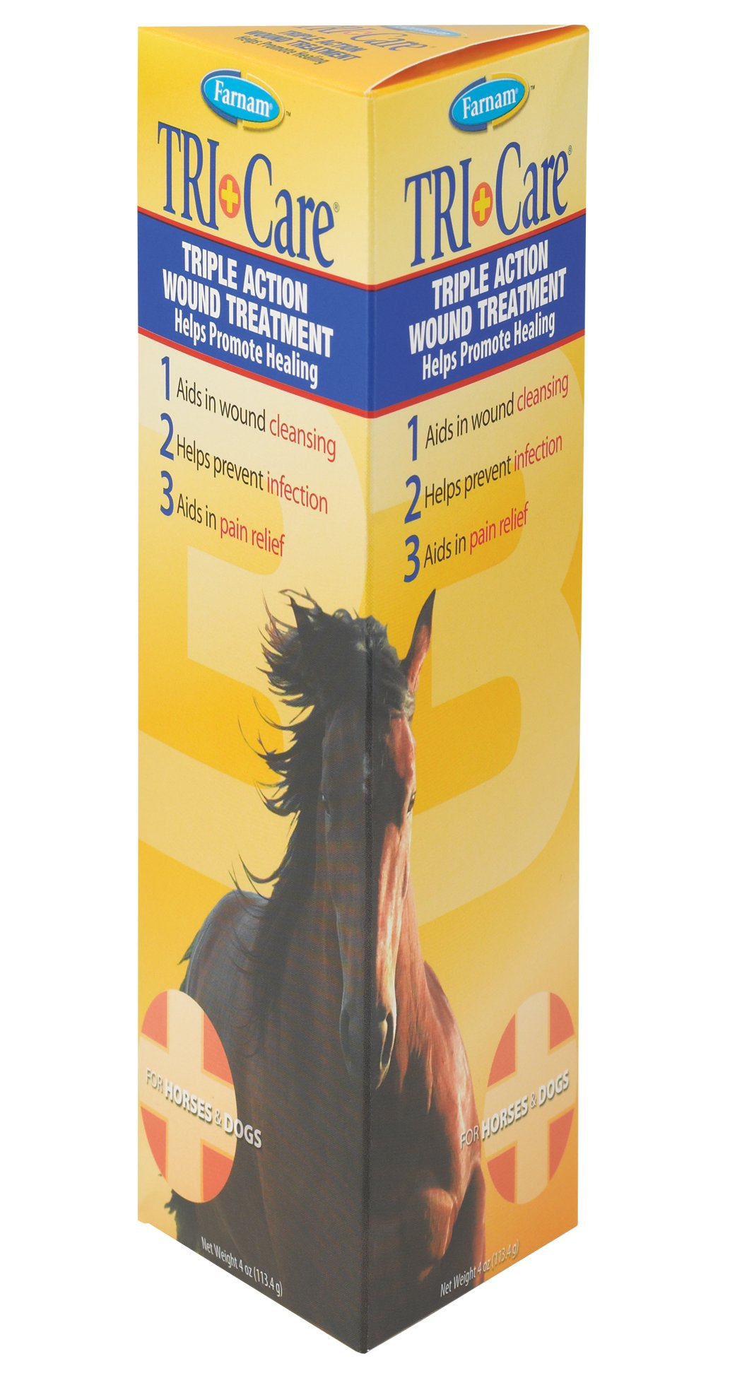 Farnam Tri-Care Triple Action Wound Treatment, 4 oz. by Farnam (Image #1)