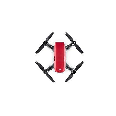 DJI Spark, Mini Drone, Lava Red: Camera & Photo