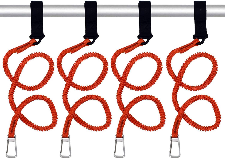 YYST Orange Paddle Leash Paddle Holder Tool Lanyard - No Paddle