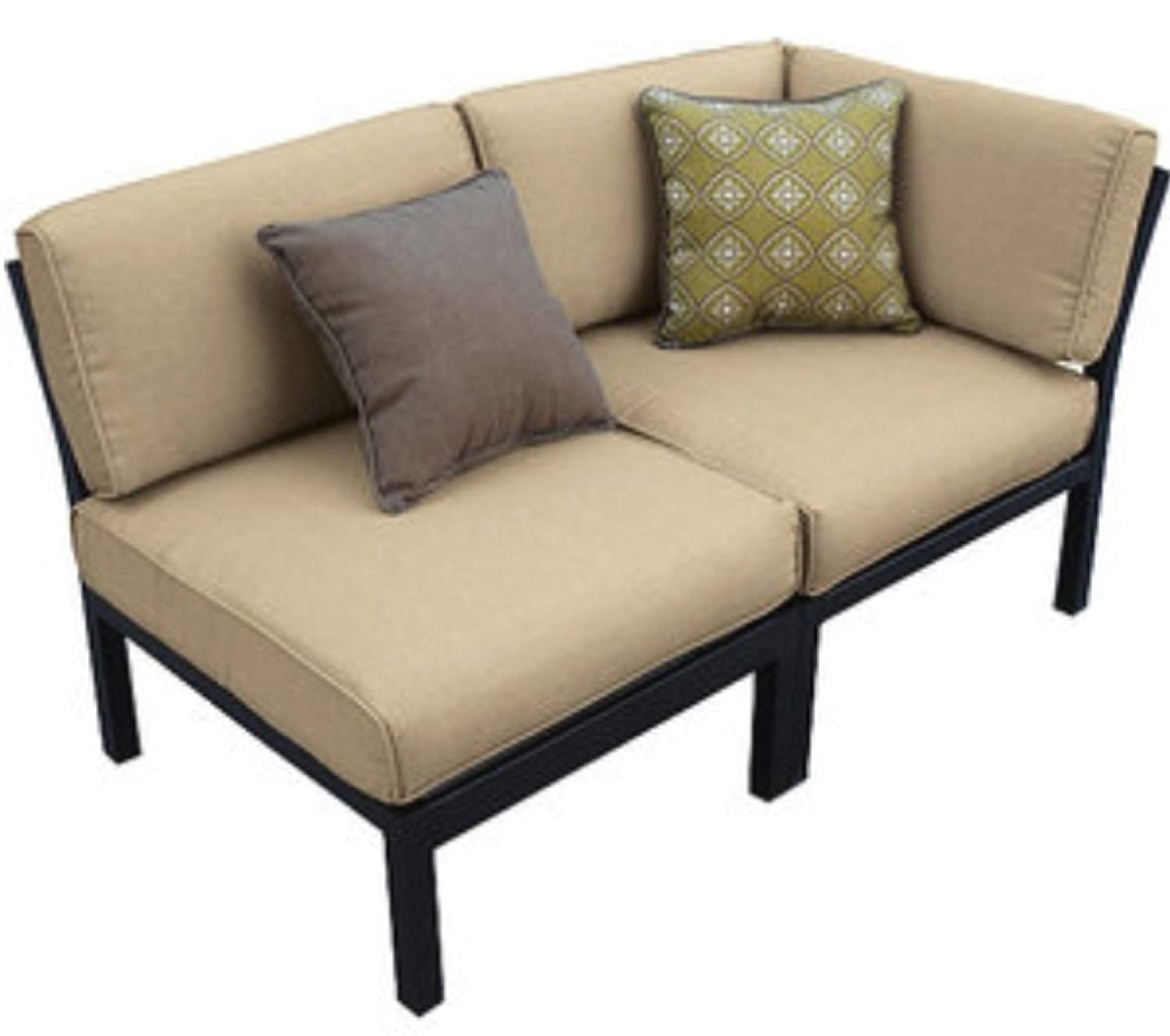 Amazon.com : Outdoor Patio Sectional 7 Piece Stylish Furniture Sofa Set  Seats Deep Seating : Garden U0026 Outdoor