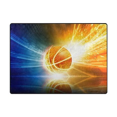 Amazon.com: Top Carpenter Alfombra de baloncesto área de ...