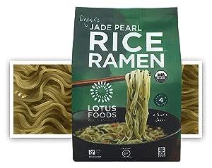 Lotus Foods Gourmet Organic Jade Pearl Rice Ramen Noodles, 10 Ounce (Pack of 6)