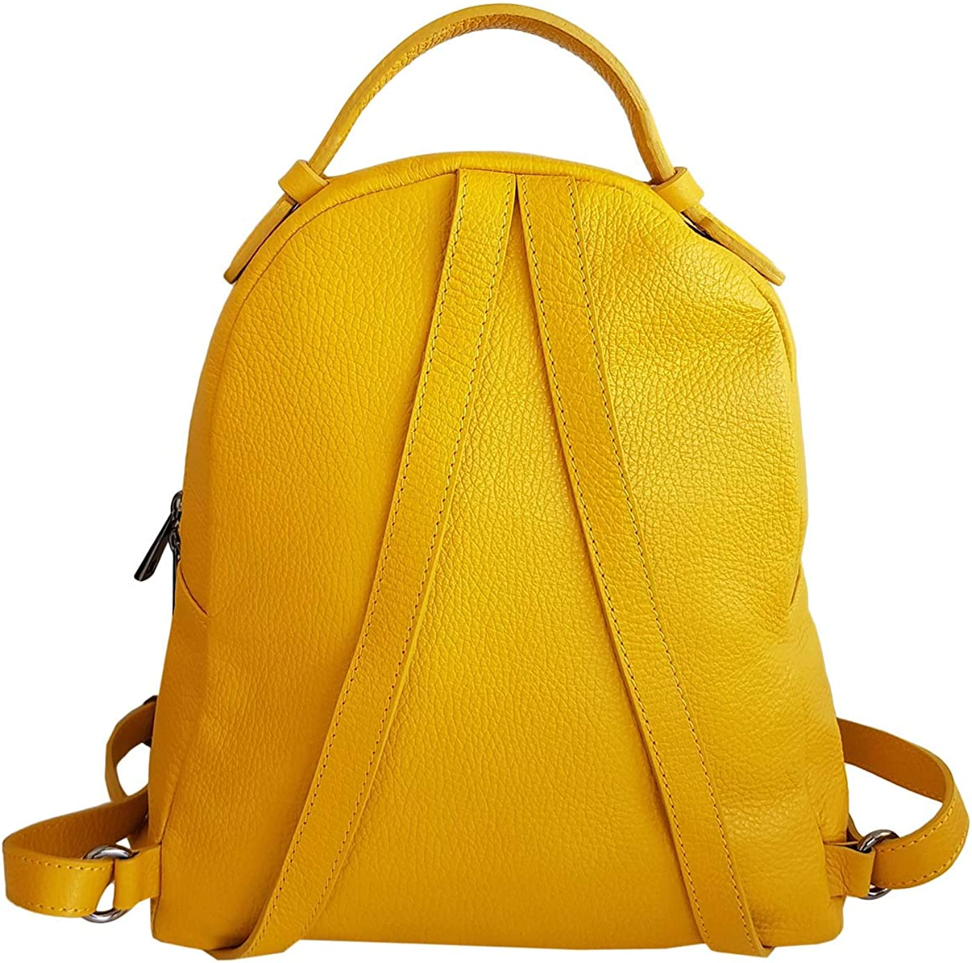 Atelier FLORENTINS ZAINO IN PELLE BRICA MADE IN ITALY Giallo