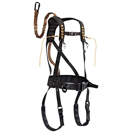 Muddy Safeguard Harness, X-Large, Black