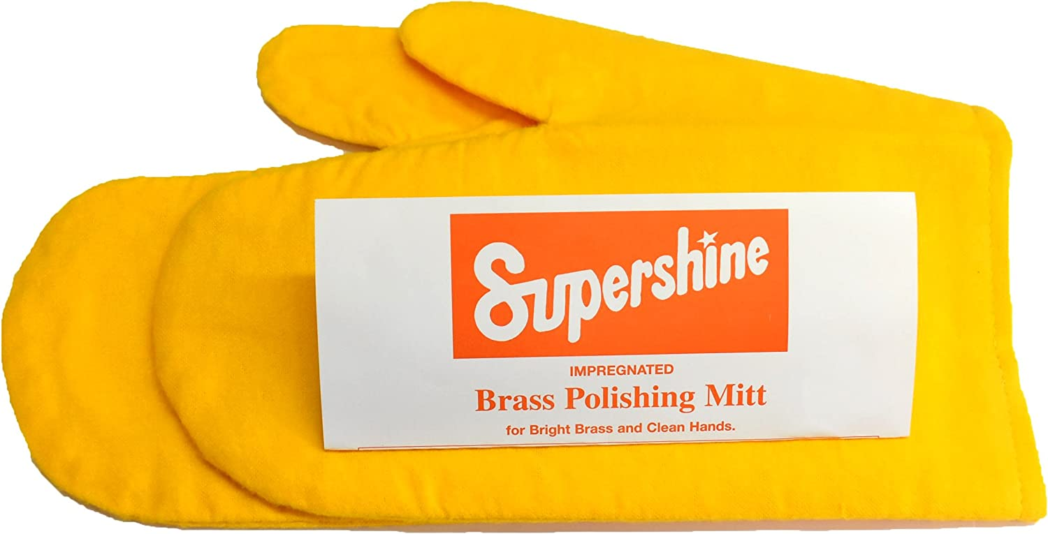 CONTAINS SPECIAL IMPREGNATION COPPER AND BRONZE CLEANING CLOTH LARGE BRASS