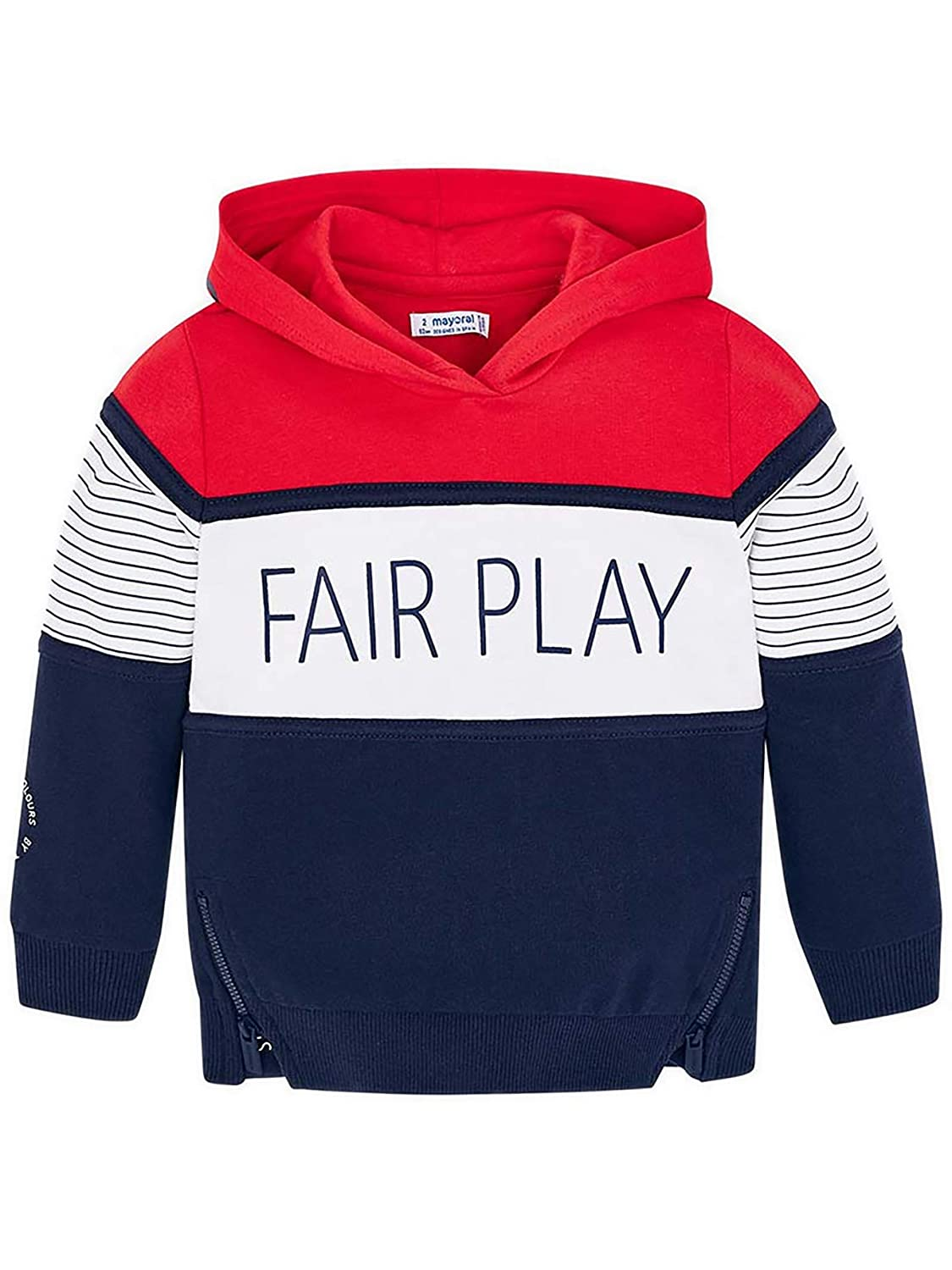 Contrast Pullover for Boys 3419 Mayoral Red