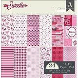 Authentique AUTSWT007 Sweetie Paper Pad 12x12