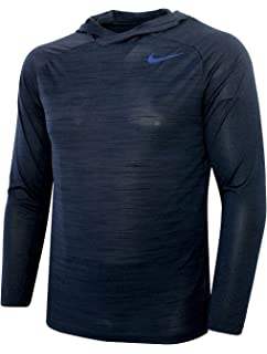 fae6b63a Nike Men's Dri-fit Touch Long Sleeve Hoodie at Amazon Men's Clothing ...