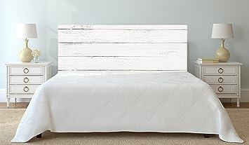 cabecero cama imitacin madera xcm color blanco informacion actualizada cantos impresos cabecero