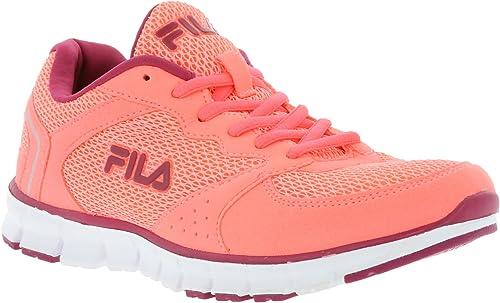 Fila - Zapatillas de Tela para Mujer Rosa Rosa, Color Rosa, Talla ...