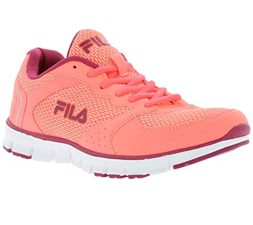 Fila - Zapatillas de tela para mujer rosa Rosa, color rosa, talla 40: Amazon.es: Zapatos y complementos