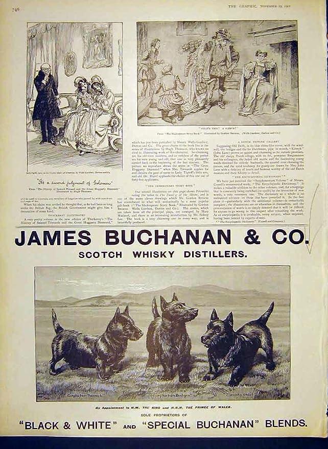 Scotch Whisky 1902 Distillery Map
