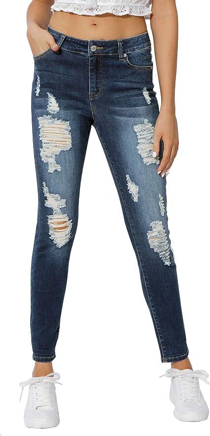 Muhadrs Women's Classic Jeans.