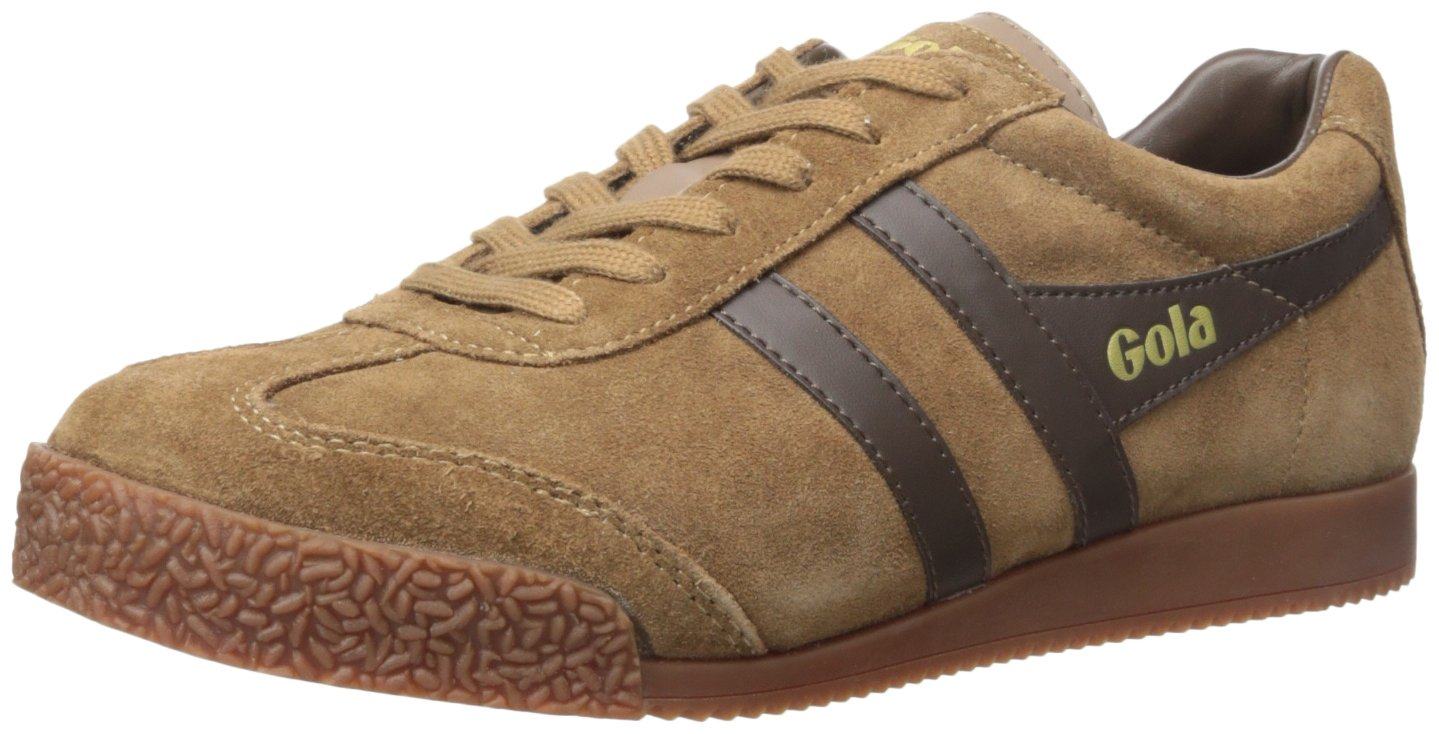 Gola Men's Harrier Fashion Sneaker B01DDQEDRS 12 UK/13 M US|Tobacco/Dark Brown