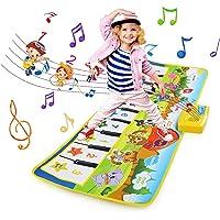 NEWSTYLE Juguetes Niños 2 Años, Alfombra Musical, Grande Alfombra Infantil, Touch Alfombra Musical Teclado, Alfombra de…