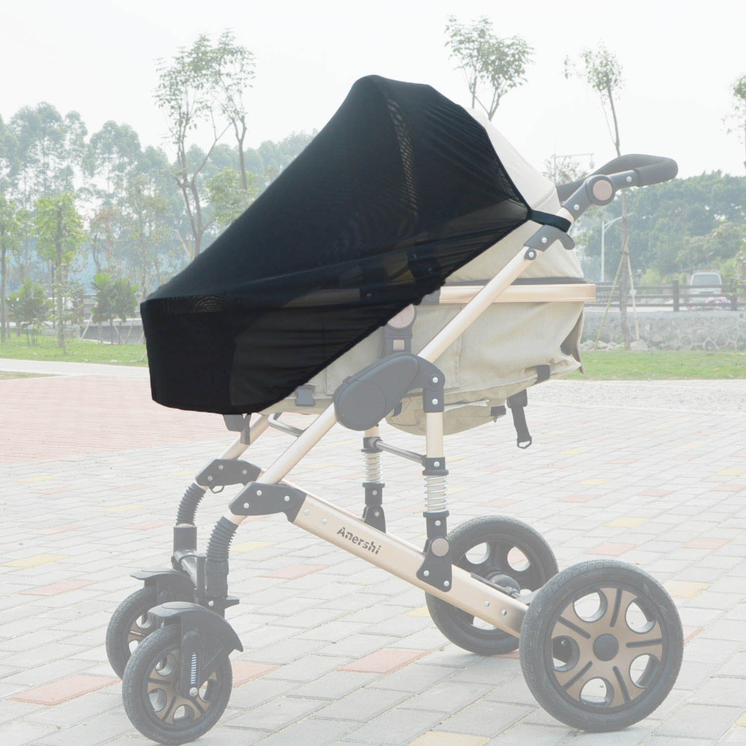 Universal Pram & Carrycot Sunshade for Infantastic Baby Child Pushchair Pram / Stroller 2in1 with Carry Cot Zhiyi STROLLER-SHADE-INFANTASTIC