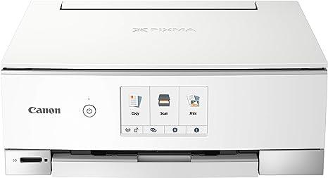 Impresora Multifuncional Canon PIXMA TS8251 Blanca Wifi de ...
