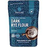 Rye Flour 2lb / 32oz, Dark Rye Flour for Bread, Pumpernickel Flour, Rye Bread Flour, Rye Flour for Baking, 100% Whole Rye Flo