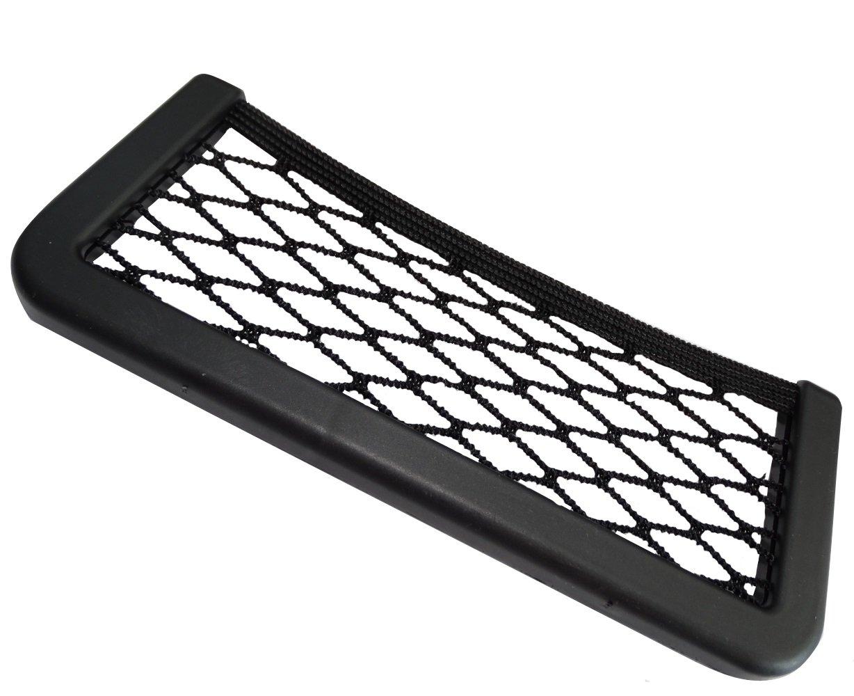 Aerzetix - Sostenere tasca organizer elastico autoadesivo per cruscotto di auto . SK2-C17007-AK57