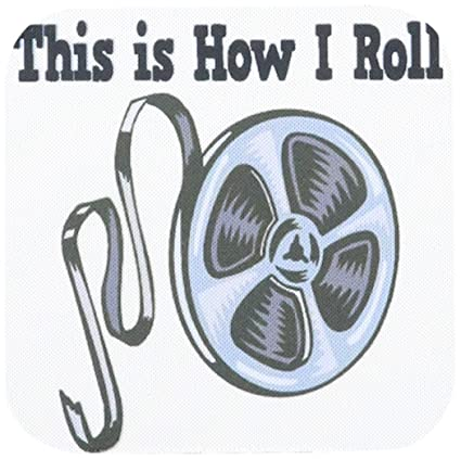 Amazon com: 3dRose cst_102536_2 This is How I Roll Movie