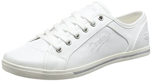 40TH201-790500, Baskets Basses Femme, Blanc (Weiss), 36 EUDockers by Gerli