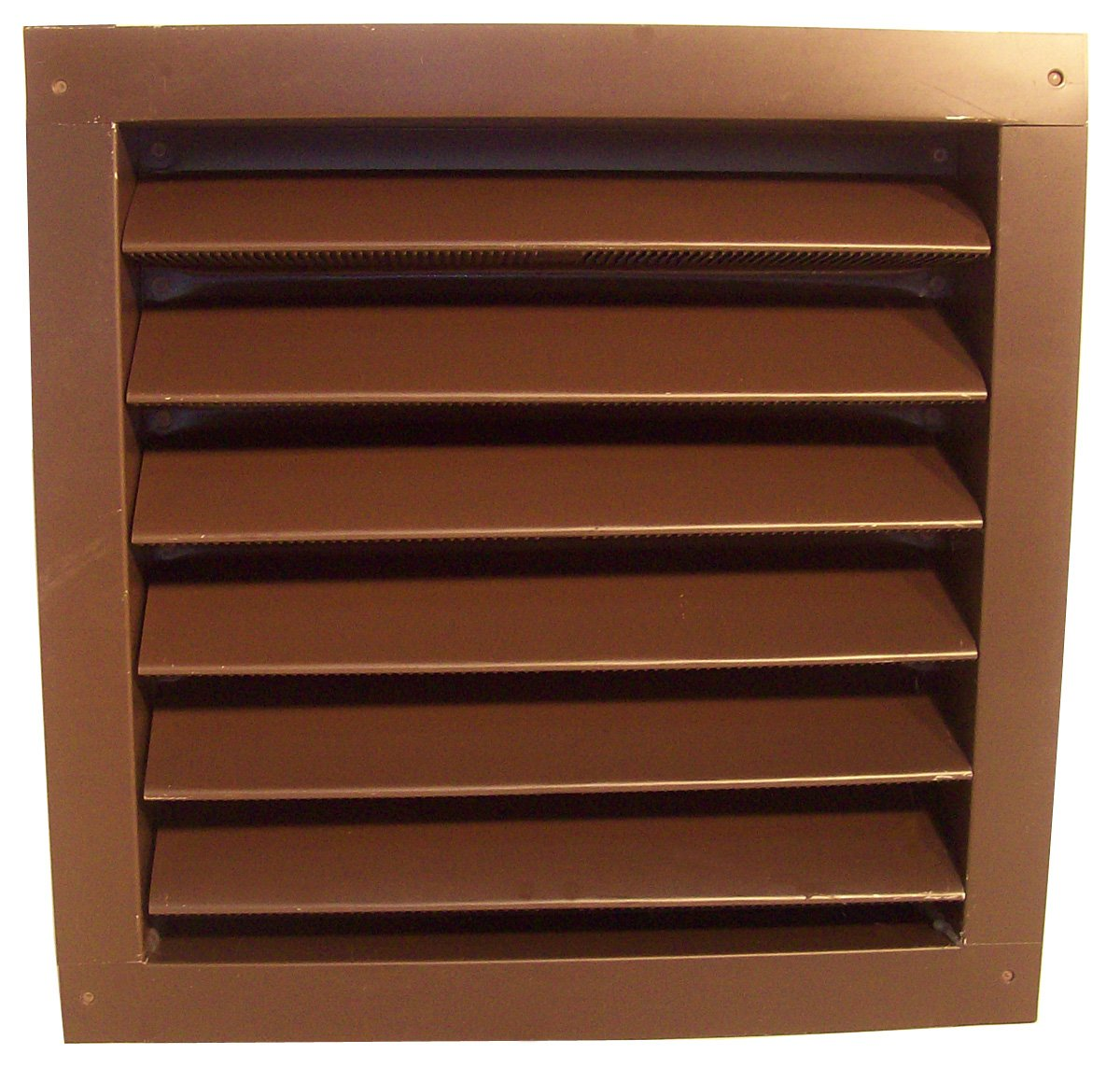 Norwesco 553530 Brown Recessed Attic Vent, 12-Inch by 18-Inch