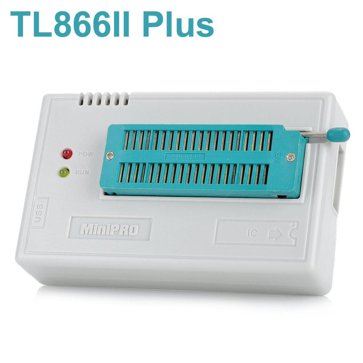 WINGONEER/® TL866II Plus USB High Performance EEPROM FLASH BIOS Programmer for ATMEL AVR ATMEGA AT90 PIC GAL SRAM CMOS