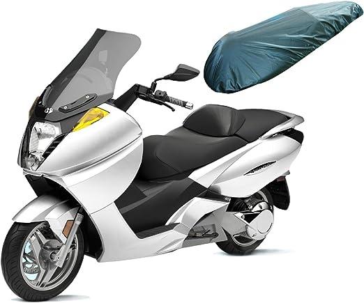 A de Pro Universal Motorcycle Motorbike Nylon Heavy Duty Waterproof Seat Covers Black L: Amazon.es: Coche y moto